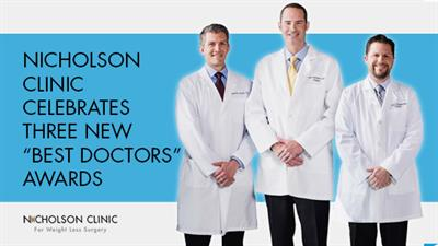 Nicholson Clinic earns three new Best Doctors awards