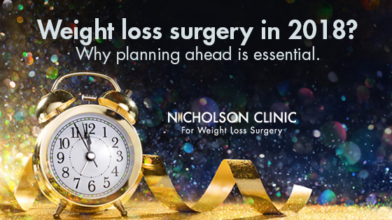 planning for weight loss surgery