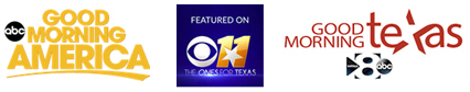 Nicholson Clinic has been seen on Good Morning America, KTVT Channel 11 and Good Morning Texas