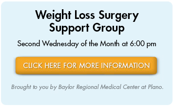 Weight Loss Surgery Support Group