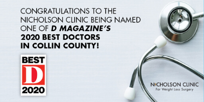 Nicholson Clinic named best in Collin County b d magazine