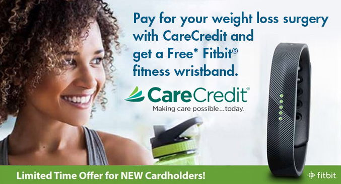 Free* Fitbit® fitness wristband from CareCredit