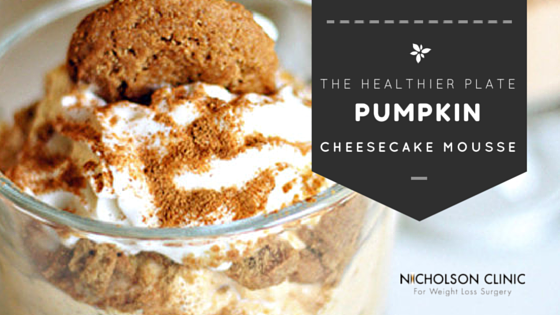 NC - Healthier Plate - Pumpkin Cheesecake Mousse