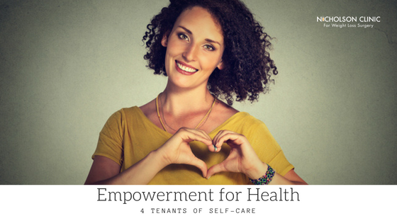 empowerment for health tenants of self care