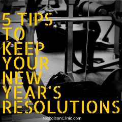 tips to keep your new years resolution
