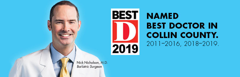 "One of D Magazine's ""Best Doctors"" in Collin County 2011–2016, 2018-2019"