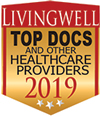 "Nicholson Clinic has been voted to Living Well Magazine's ""Top Docs"""